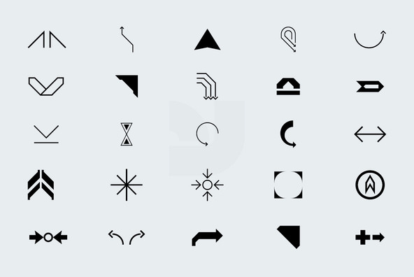 300 Arrow Icons
