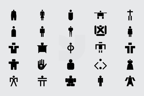 150 People Icons