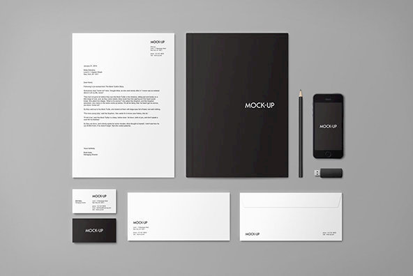 Stationery   Branding Mock up