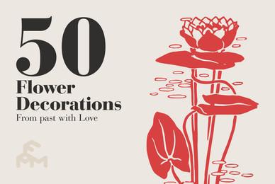 50 Flower Decorations