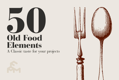 50 Old Food Elements