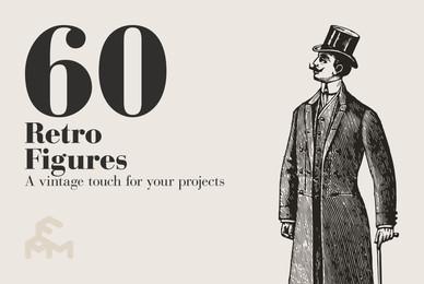 60 Retro Figures