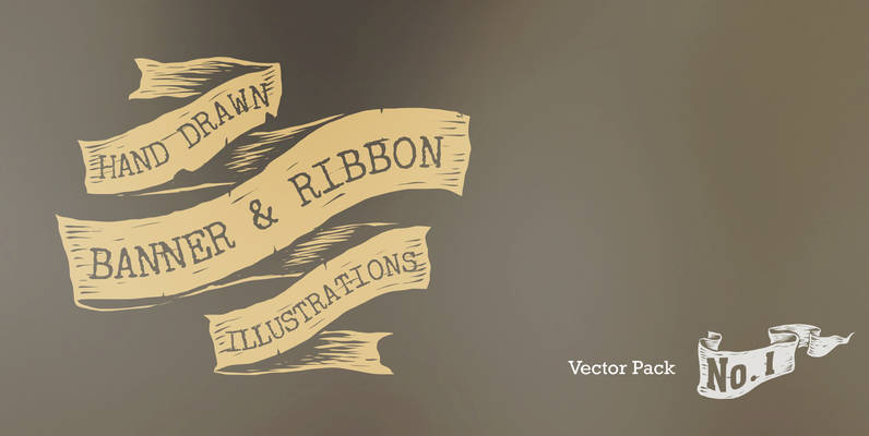 Banners and Ribbons Vector Pack 1