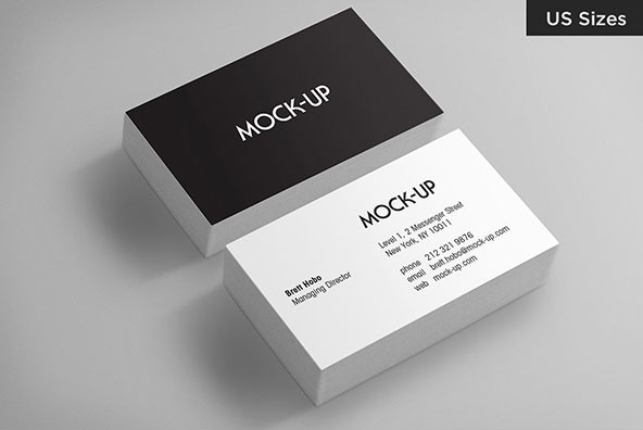 Business card mockups us sizes graphics youworkforthem business card mockups us sizes reheart Gallery
