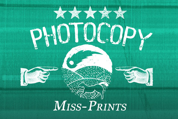 Photocopy Miss Prints