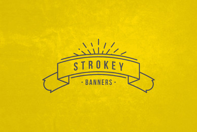Strokey Banners