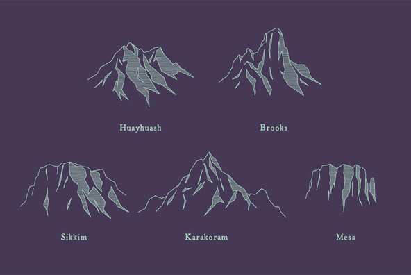 Mountain Ranges