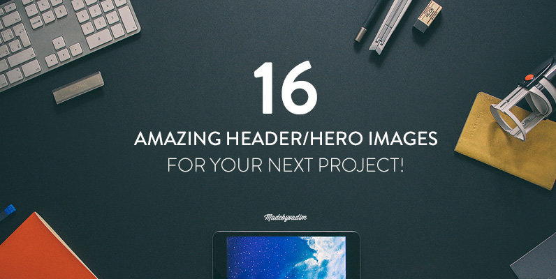 16 Hero Header images