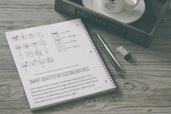 34 Hip Notebook Mockups