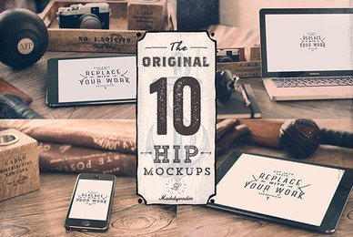 10 Original Hip Mockups