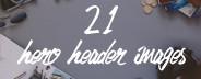 21 Hero Header Images