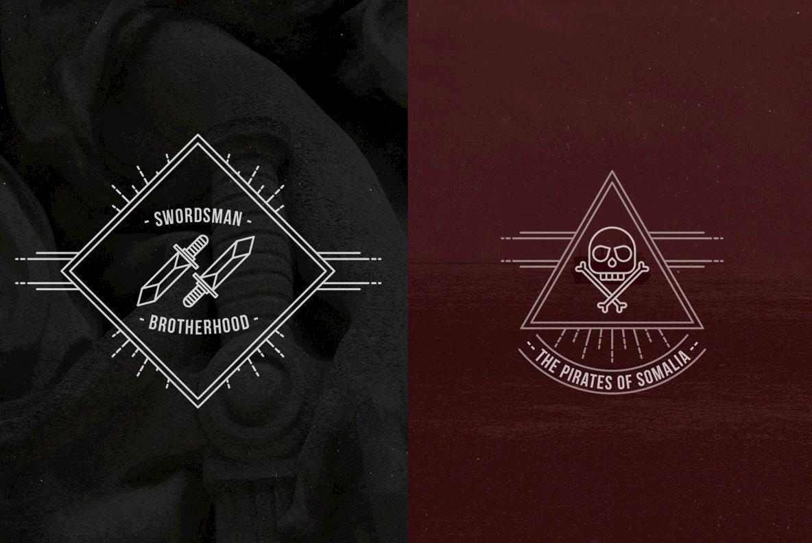 Line Badge Kit V2