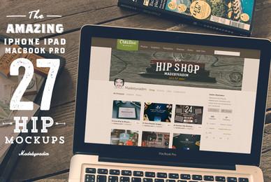 27 Hip Apple Device Mockups