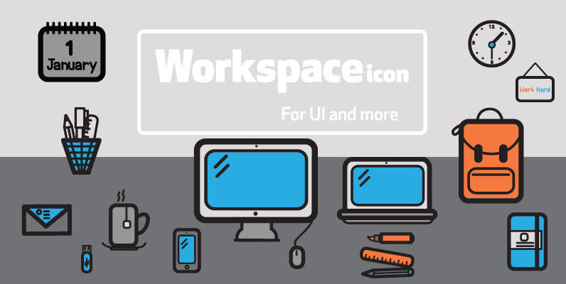 WorkSpace Icons