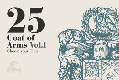 25 Coat Of Arms   Volume 1
