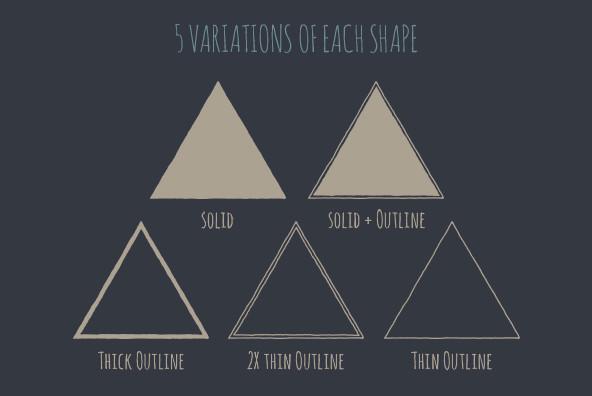 Geometric Badge Shapes