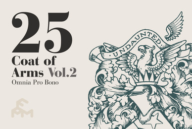 25 Coat Of Arms   Volume 2