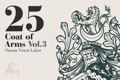 25 Coat of Arms   Volume 3