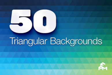 50 Triangular Backgrounds