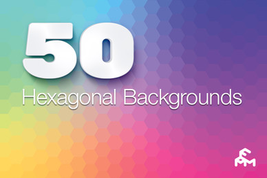 50 Hexagonal Backgrounds