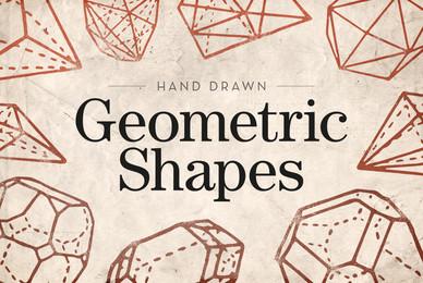 Hand Drawn Geometric Shapes