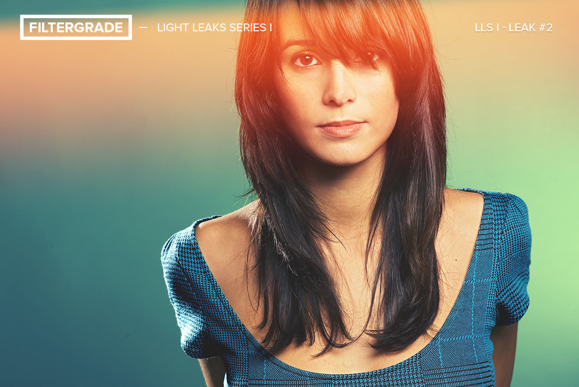 Light Leaks Series I Photoshop Actions