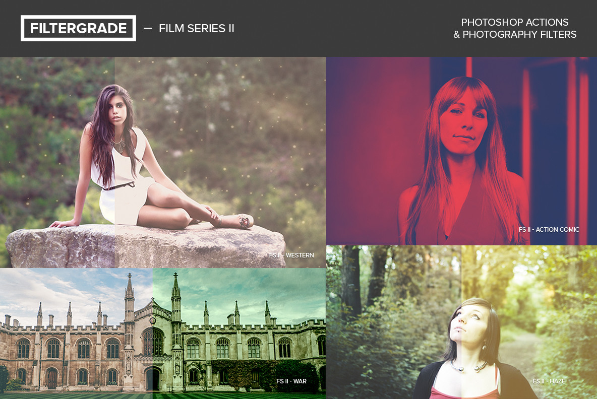 Film Series II Photoshop Actions