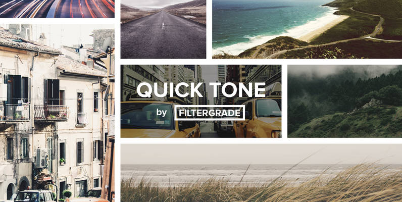 QuickTone - Subtle Photoshop Actions