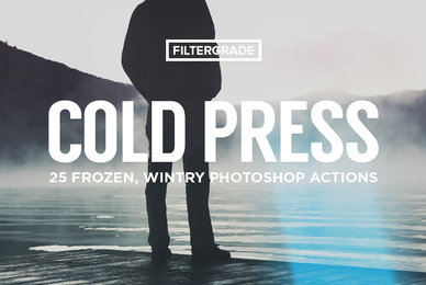 ColdPress   Winter Photoshop Actions
