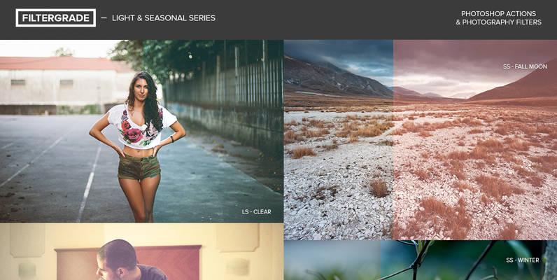 Light   Seasonal Series Photoshop Actions