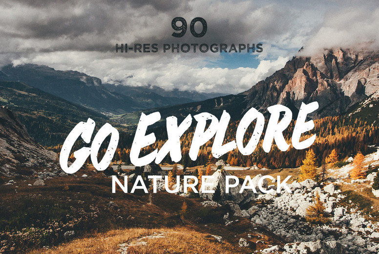 Go Explore Nature photo pack