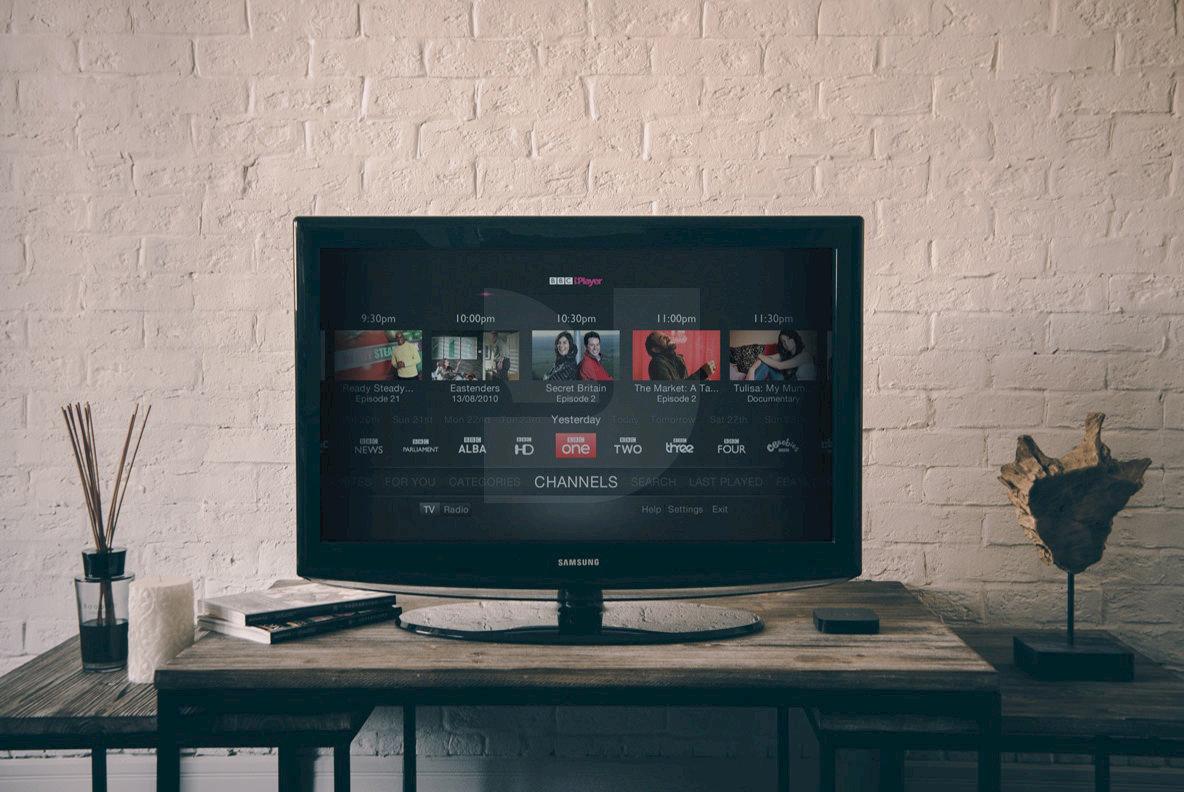 9 Hip TV Mockups