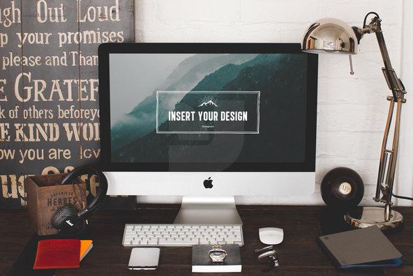 20 iMac   Macbook screen mockups