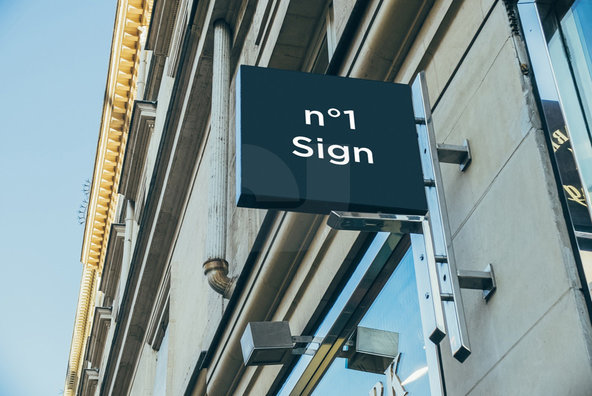 100 Signs   Facades Mockups