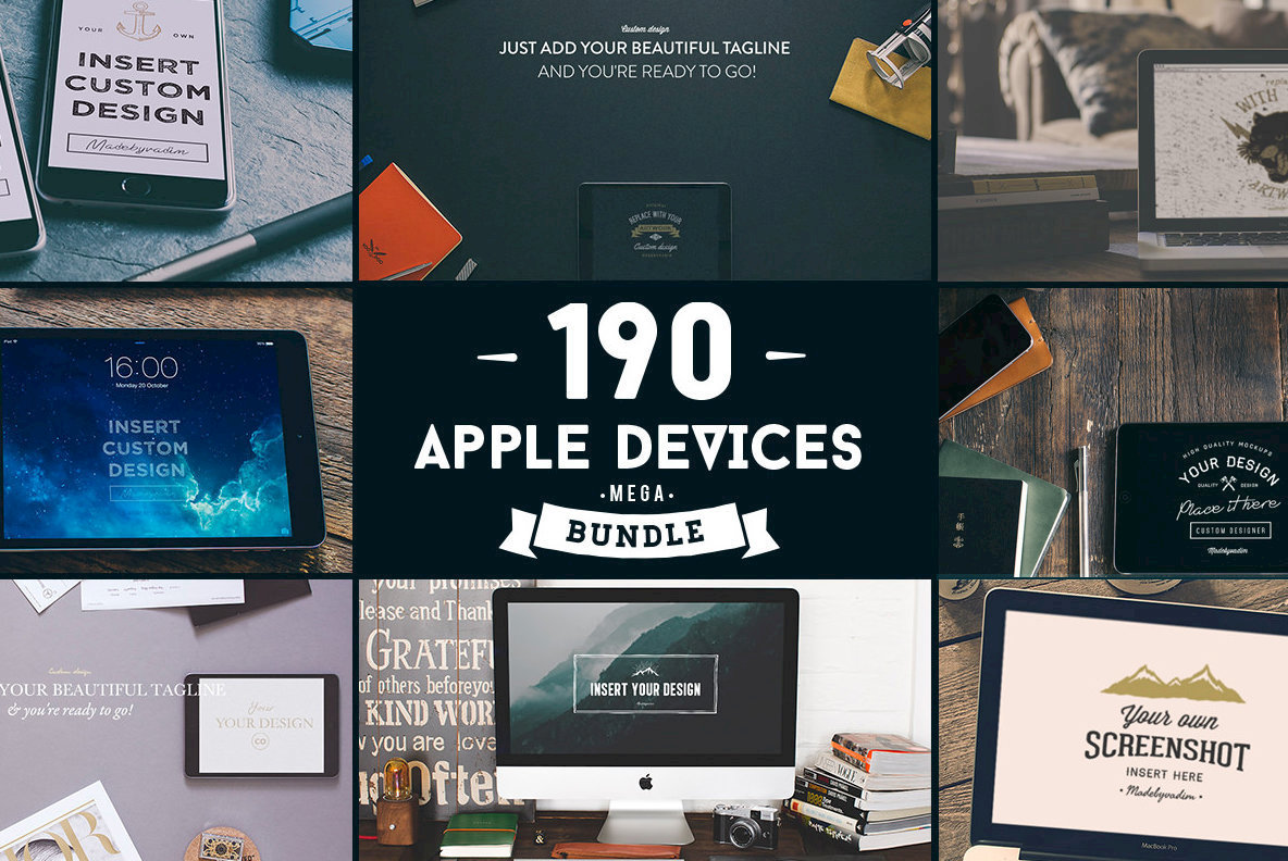 190 Apple Devices Mega Bundle