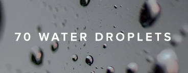 70 Water Droplet Images