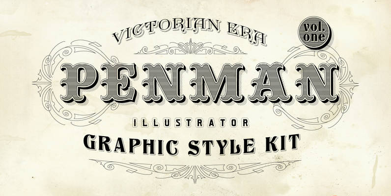 Penman Vintage Graphic Styles