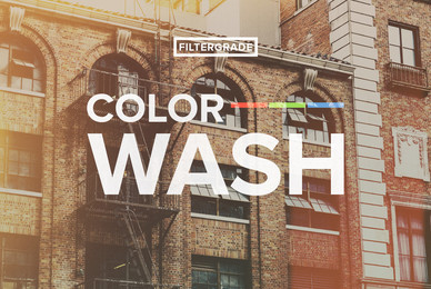 ColorWash   PSD Actions