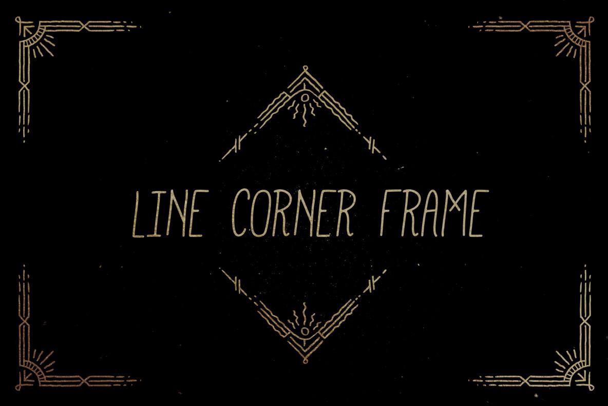 Line Corner Frame