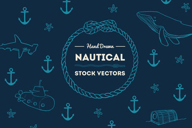 Hand Drawn Nautical Illustrations
