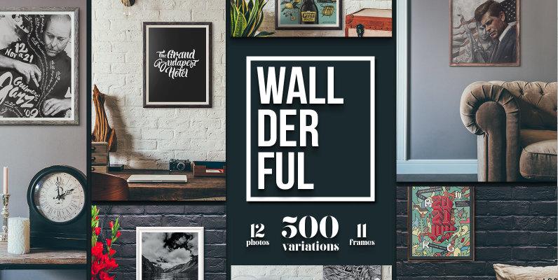 Wallderful - Frame Mockups