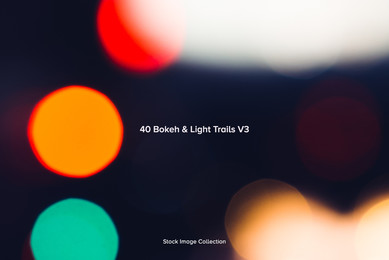 40 Bokeh   Light Trails V3