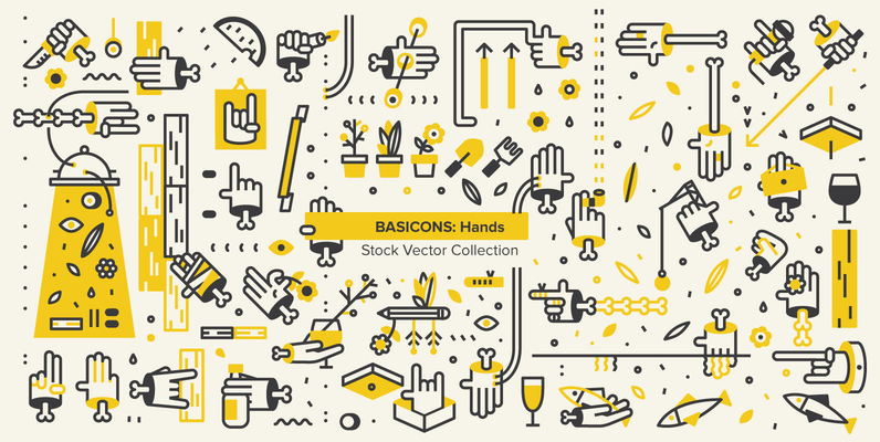Basicons: Hands