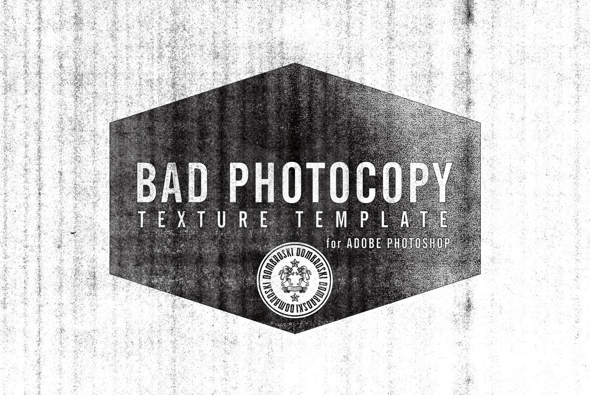 Bad Photocopy Texture Template