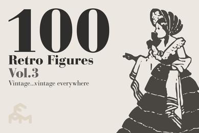 100 Retro Figures Vol 3