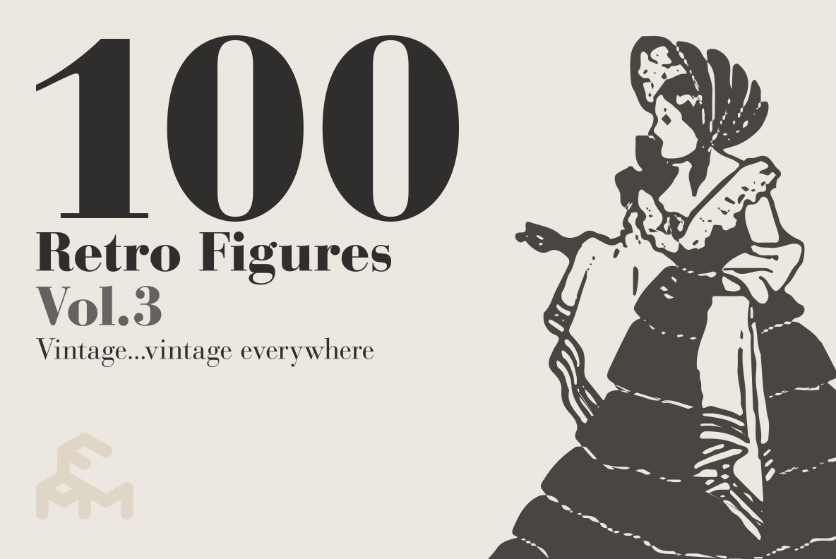 100 Retro Figures Vol 3