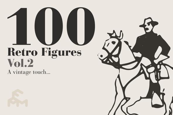 100 Retro Figures