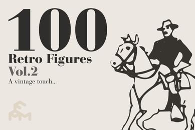 100 Retro Figures Vol 2