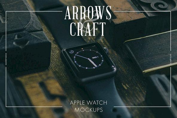 Arrows   Craft   Apple Watch Mockups