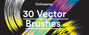 30 Vector Art Brushes